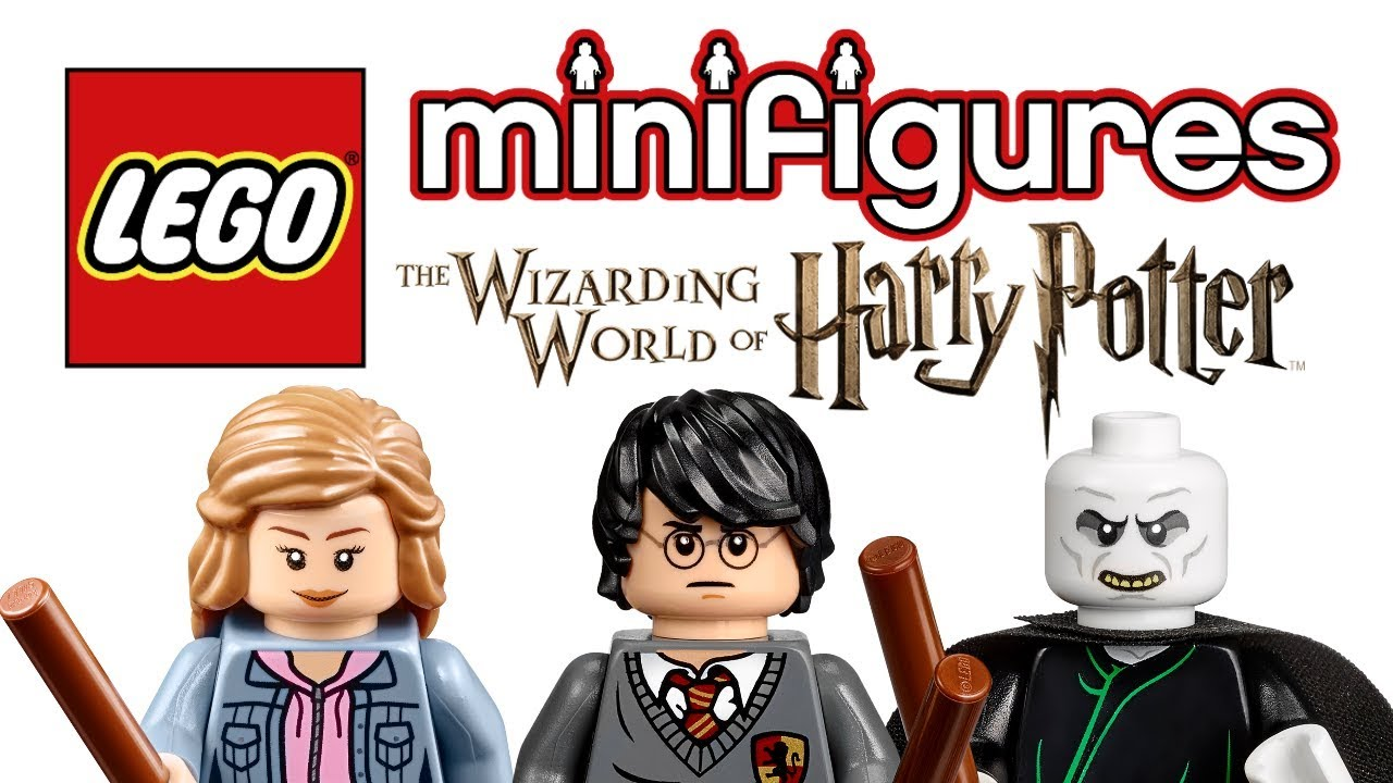 LEGO Harry Potter Minifigures Series coming in 2018! - YouTube