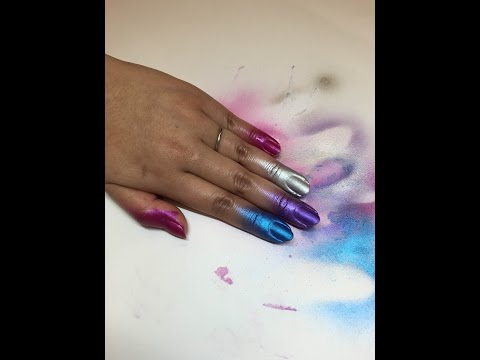 We Tested China Glaze Coloured Nail Spray (Periscope)