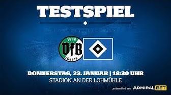 RELIVE: Testspiel VfB Lübeck vs. Hamburger SV