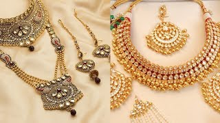 Trending 1 Gram Gold Jewellery sets | Bridal jewellery sets