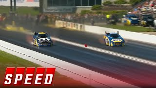 Ron Capps vs. Matt Hagan - Topeka Funny Car Final | 2017 NHRA DRAG RACING