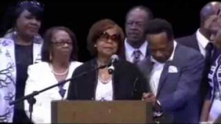 The Hawkins Family Speaks At Walter Hawkins
