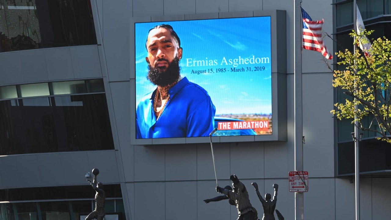 Watch live: Memorial service is held for rapper Nipsey Hussle in Los Angeles