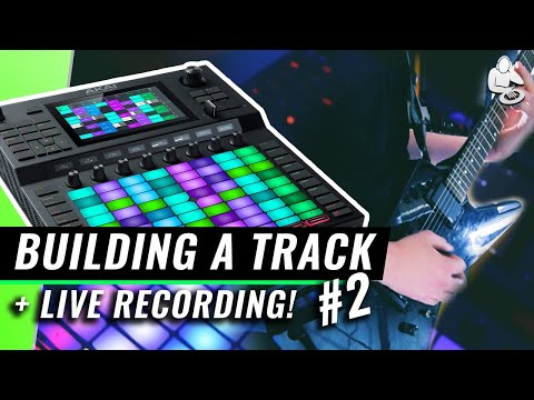 BUILD and RECORD a Chill Beat with NO Computer! Akai Pro Force   Tutorial