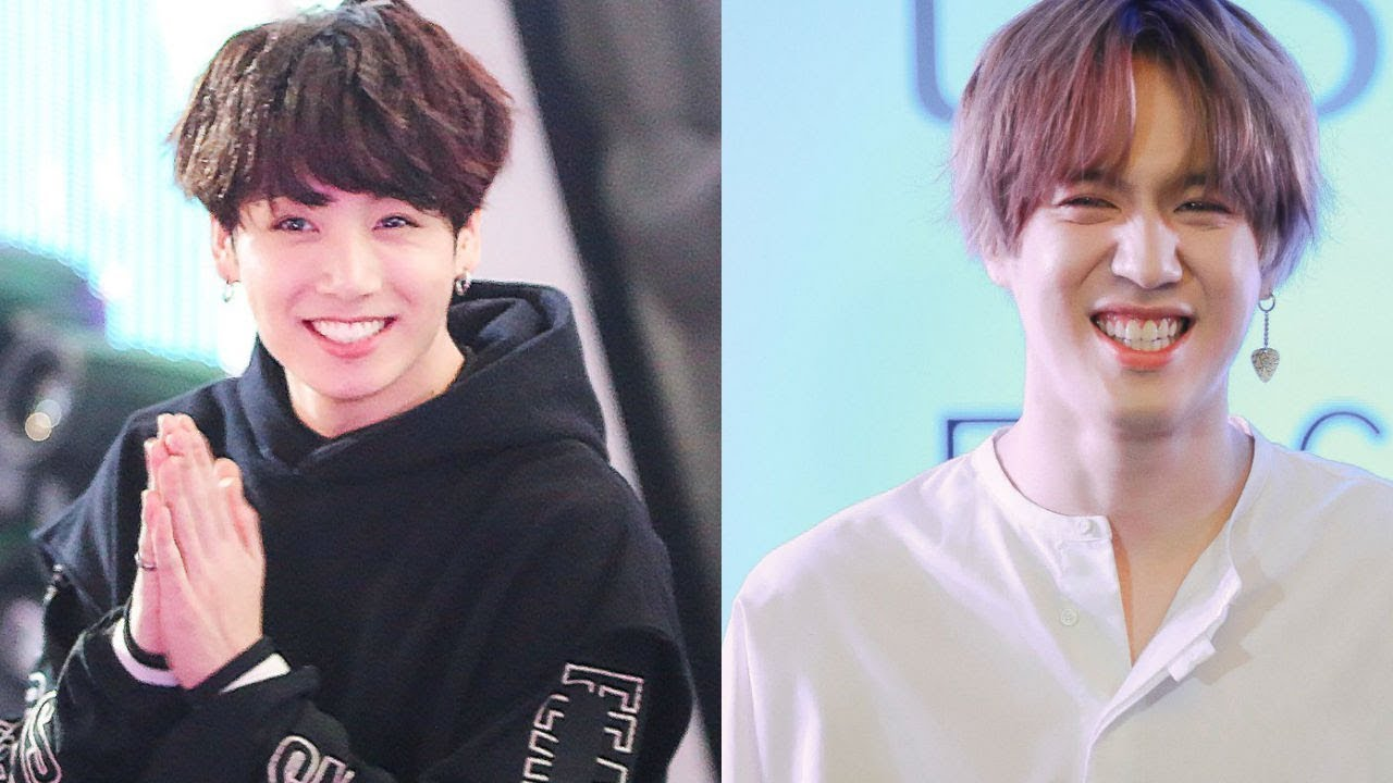 GOT7 Yugyeom and BTS Jungkook similarities