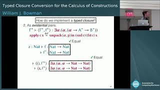 Typed Closure Conversion for the Calculus of Constructions