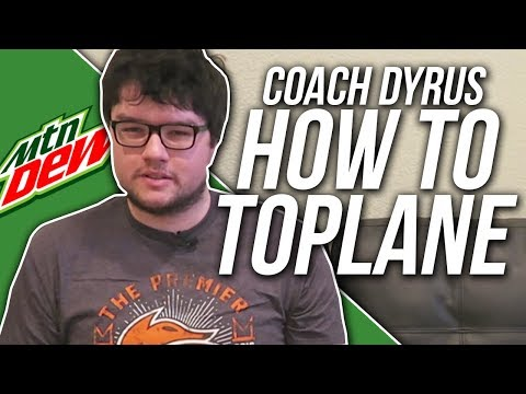 DYRUS • LEARN HOW TO TOP LANE FROM COACH DYRUS!!