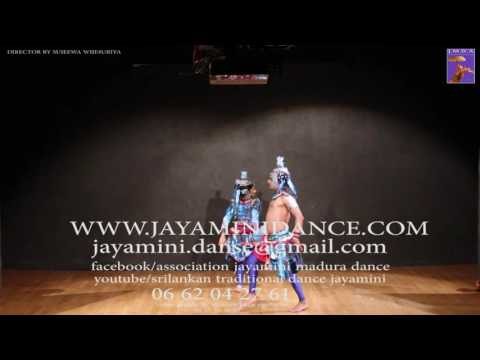 sri lanka traditional peacock dance jayamini madura dancing academy in paris
