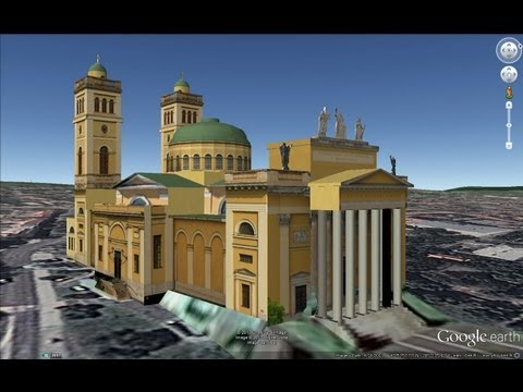 HISTORICAL PLACES OF HUNGARY IN GOOGLE EARTH PART FIVE ( 5/6 )