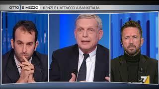 Otto e mezzo - Renzi e l'attacco a Bankitalia (Puntata 18/10/2017)