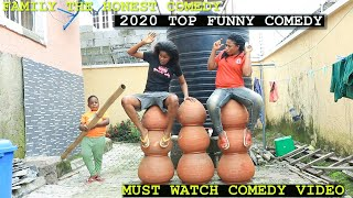Download Family The Honest Comedy - Must Watch New Funny Video 2020 Top New Comedy Video 2020 Try To Not Laugh E12 Family the honest comedy