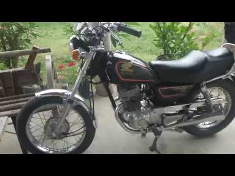 honda cm 125 custom original sound youtube. Black Bedroom Furniture Sets. Home Design Ideas