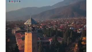 Adhaan ( آذان ) very beautiful and emotional. (Balakan City in Azerbaijan)