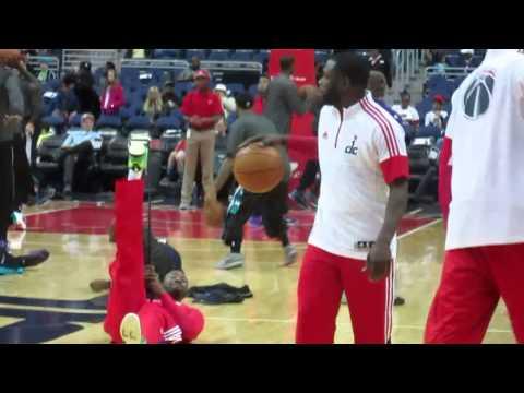 G-Wiz - Wizards Vs Hornets. 3/27/2015