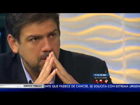 La Entrevista El Noticiero Televen - Carlos Ocariz - 17-07-2017
