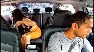 कार में लड़की के इन शर्मनाक काम देखकर आप हो जाएगे सन्न...