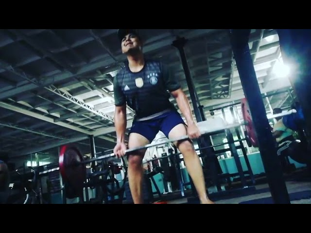 Raw footage ???????? of deadlifting by Nepali Teenager