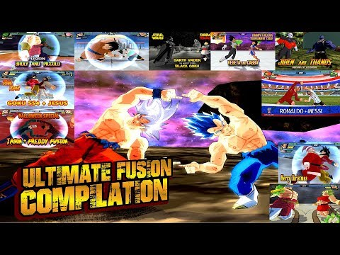 Dragon Ball ULTIMATE BEST FUSION Compilation | BEST DBZ FUSIONS EVER | DBZ Tenkaichi 3 (MOD)