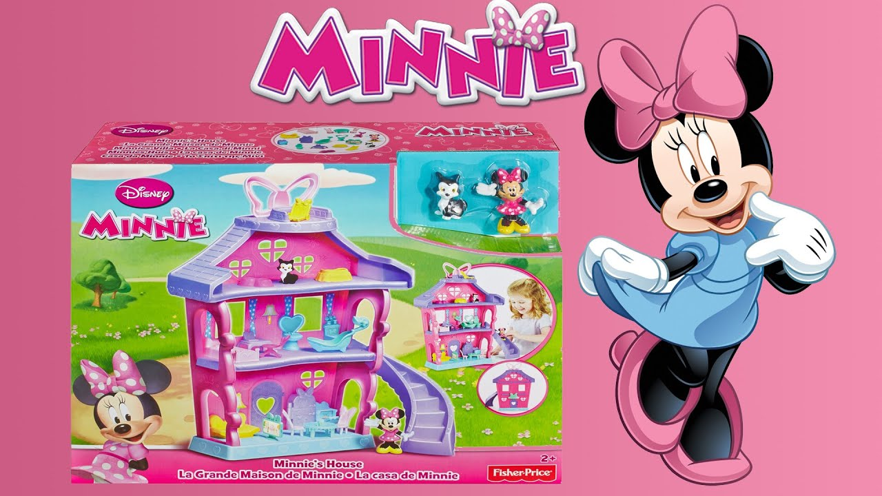 Casa minnie mouse y amigos minnie s house juguetes de - La casa de la minnie ...