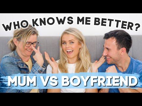 BOYFRIEND vs MUM - WHO KNOWS ME BETTER?