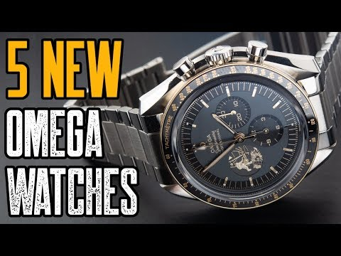 TOP 5: NEW OMEGA Watches 2019!