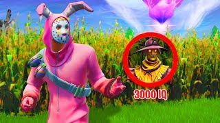 Ich bin eine Vogelscheuche! 3000 IQ Hide and SEEK in Fortnite