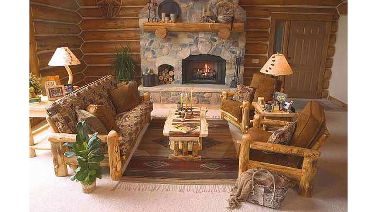 Ideas de decoraci n r stica para salas de estar youtube - Como decorar casas rusticas ...
