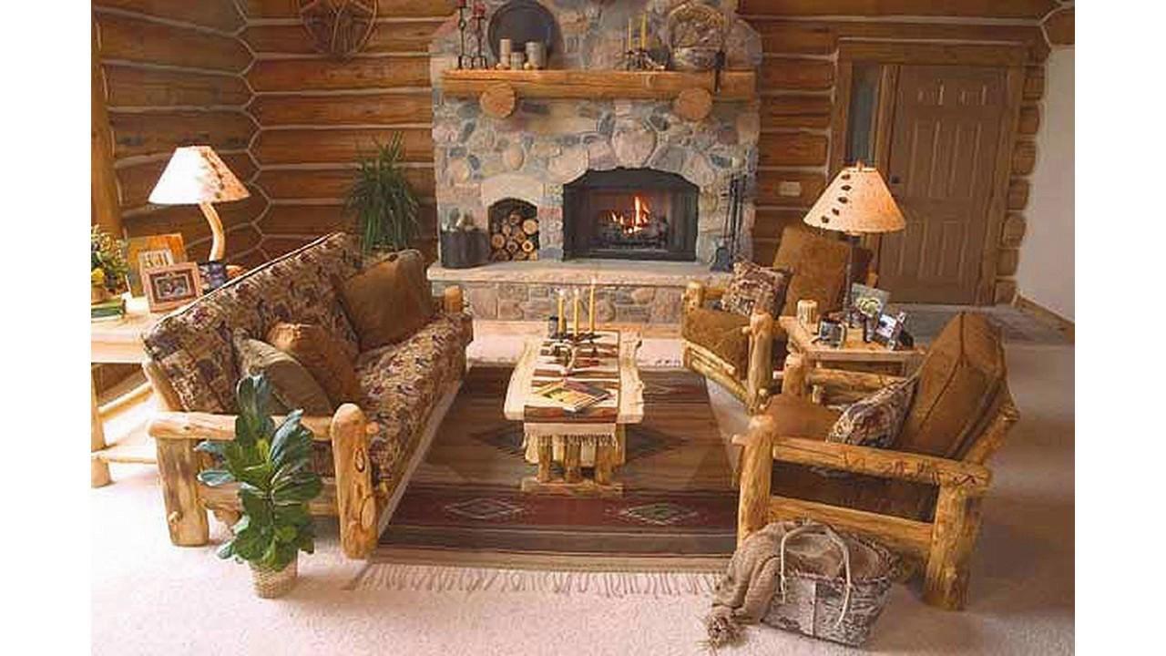 Ideas de decoracin rstica para salas de estar  YouTube