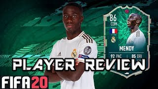 FIFA 20 | 86 SHAPESHIFTER Mendy Player Review | FERLAND MENDY