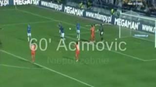 Lech 4 - 2 Austria Wszystkie Bramki kom.PL