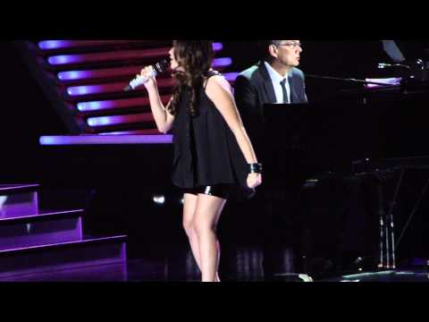 Charise singing