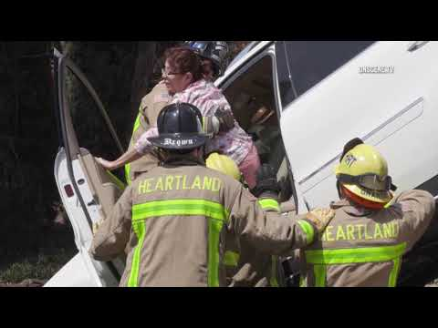 La Mesa:  Firefighters Rescue Woman 08182018