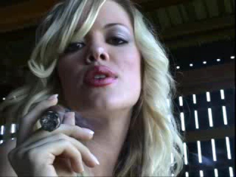 "Outlaw Cigars - Calendar Girl Allison ""Smoking HOT  & SEXY"""