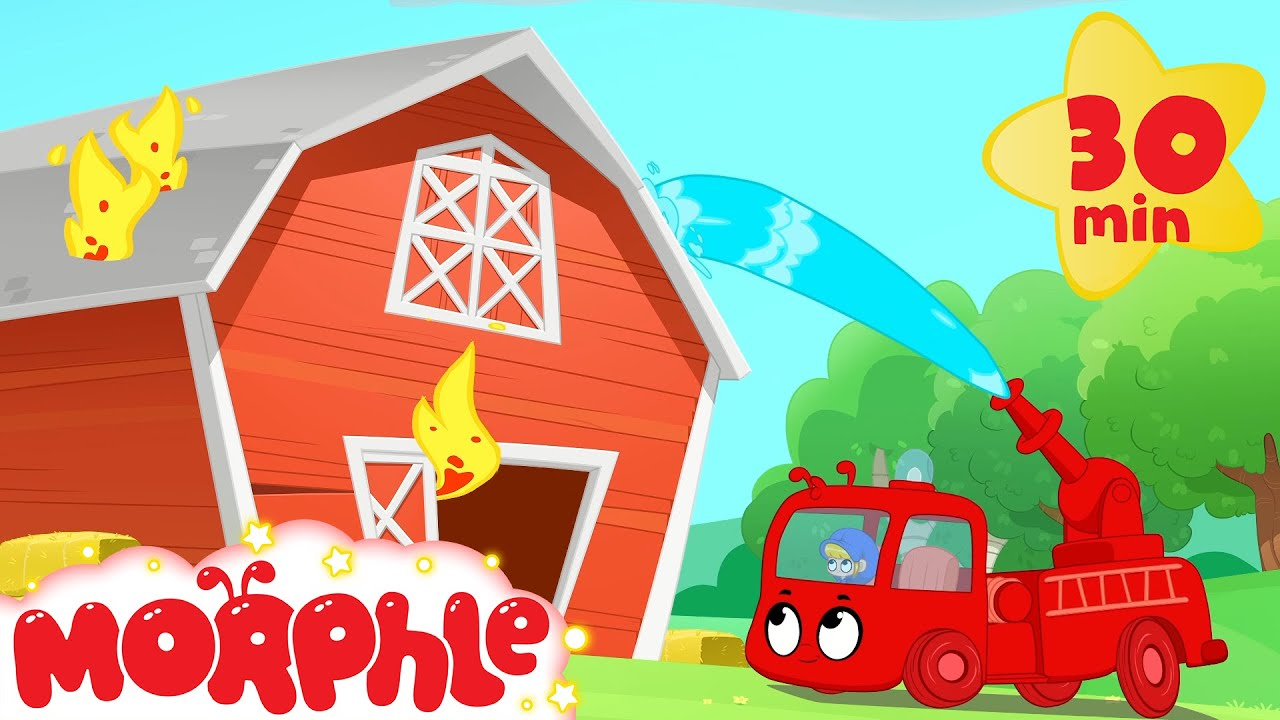 Fire Truck Trouble - Mila and Morphle | Cartoons for Kids | My Magic Pet Morphle