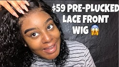 Affordable $59 Pre-Plucked Lace Frontal Wig!! Ft. Evawigs