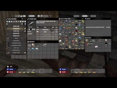 how to craft guns in 7 days to die