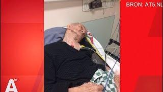 MEDEBEWONER BREEKT NEK VAN 80-JARIGE TURKSE OPA
