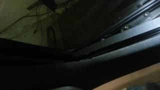 видео Замена стекла люка