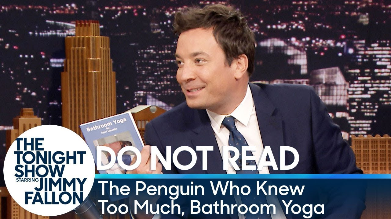 Do Not Read The Penguin Who Knew Too Much Bathroom Yoga Youtube