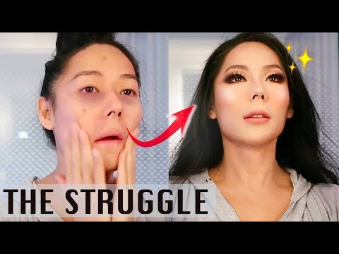ME struggling to look like a WOMAN for 8 minutes - Birthday GLAM (Pt-Br Legendado) thumbnail