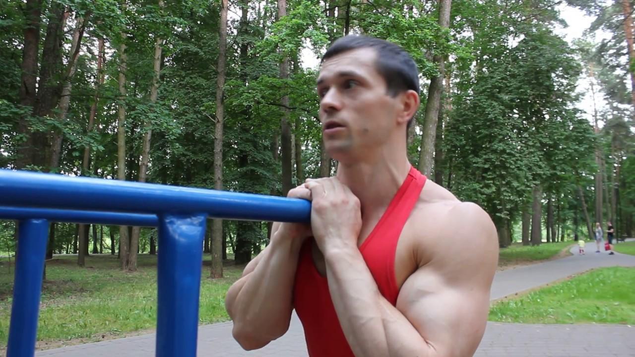 Самое четкое упражнение для грудных мышц на брусьях. Хейтер вмешался.))