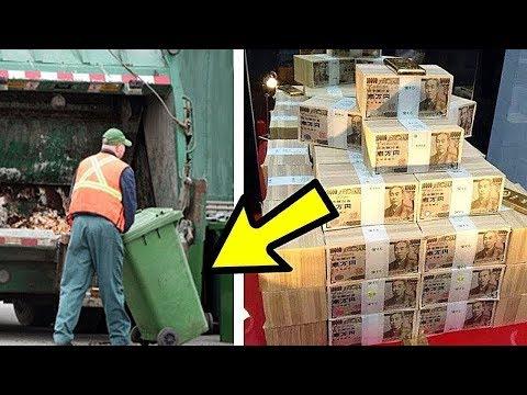 رجل كان يعمل في القمامة و في أحد الايام عثر على شيء لا يصدق , لكن للاسف هذا ماحدث !!  - نشر قبل 5 ساعة