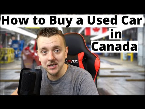 How To Buy A Used Car In Canada