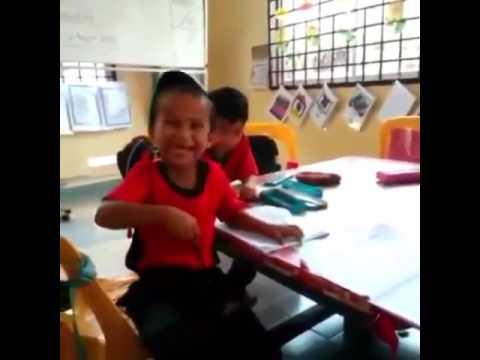 Budak tadika terlampau