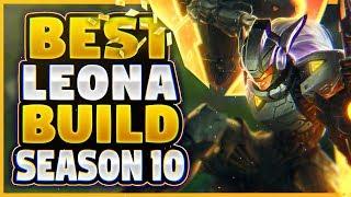LEONA'S SEASON 10 BUILD FINALLY REVEALED!?! NEW SEASON 10 LEONA BUILD (INSANE GAME!)
