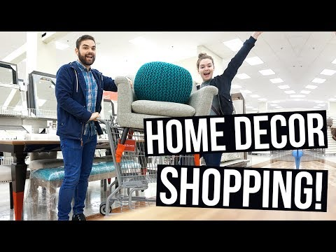 Home Decor Shopping for the New Apartment!!
