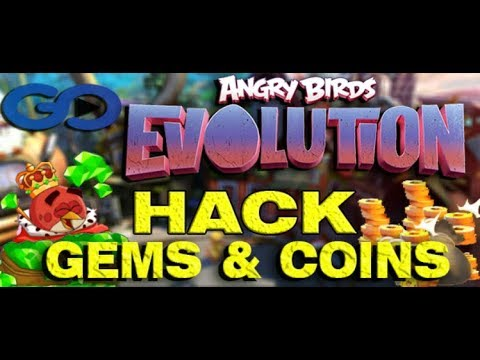 angry birds evolution mod apk unlimited money and gems