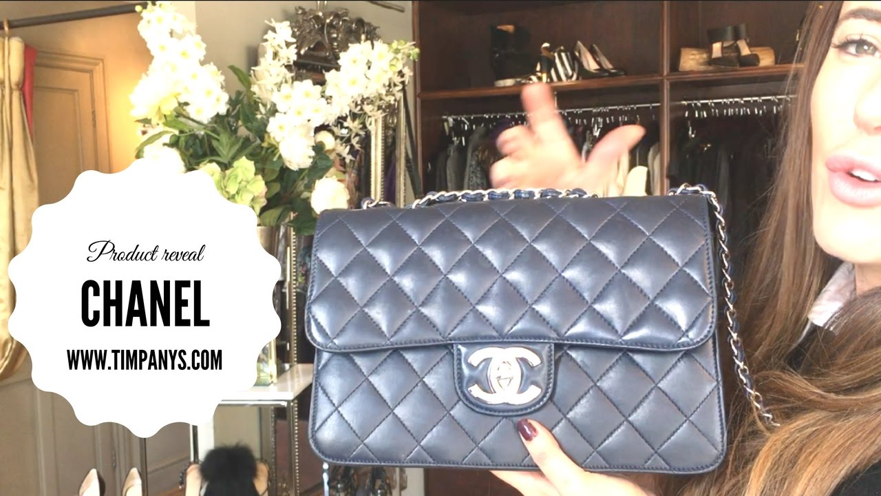 c703c6ef051a90 Chanel bag double flap limited edition blue with silver hardware ...