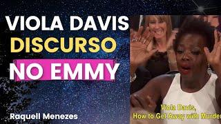 Discurso de Viola Davis no EMMY AWARDS   Melhor Atriz em Série de Drama Viola Davis   Legendado