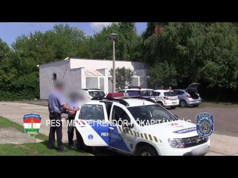 Isaszegen fogták el a rendőrök Sz. Lajost